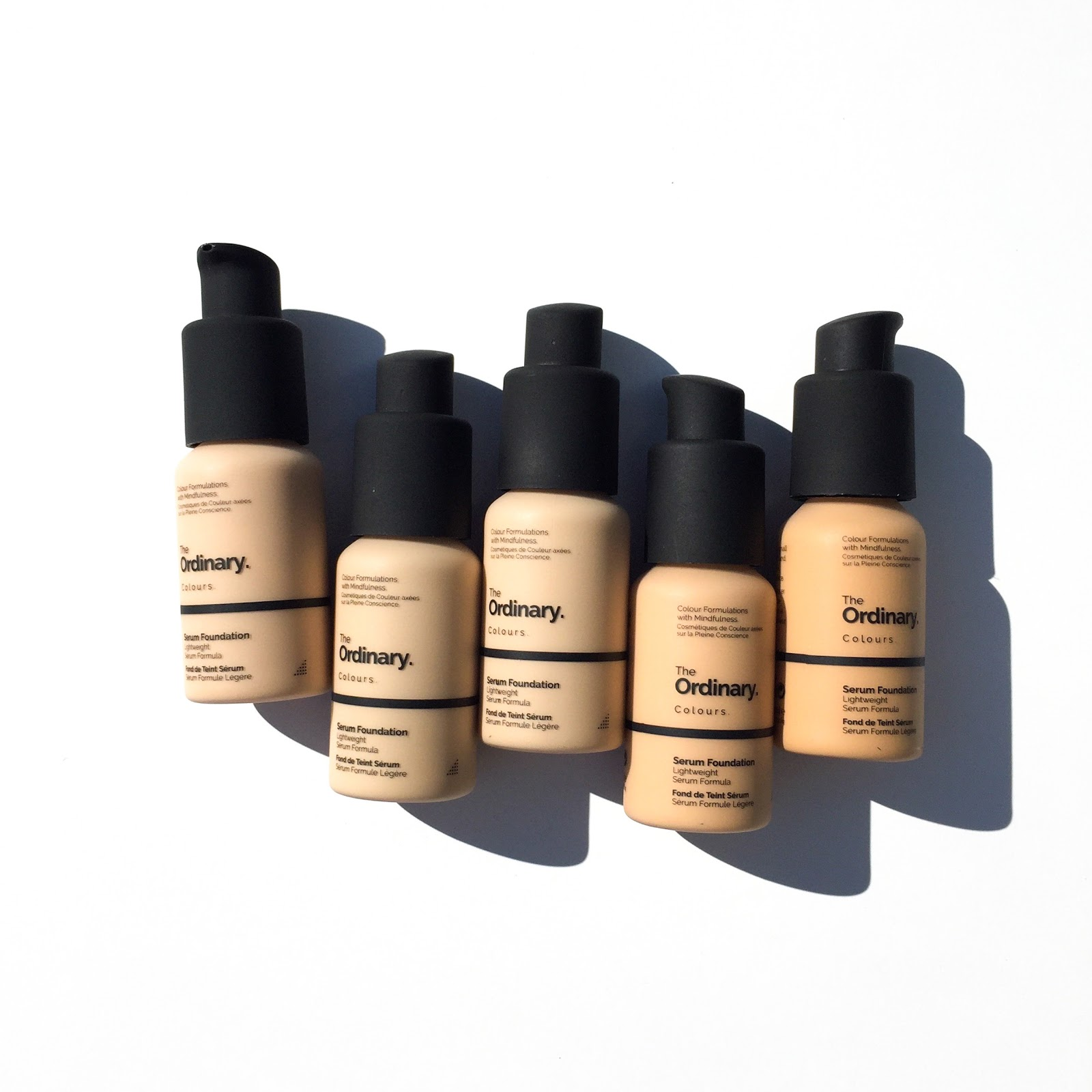 The Ordinary Serum Foundation Review Swatches The Beauty Endeavor